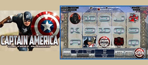 GAME XÈNG CAPTAIN AMERICA