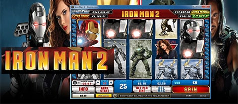 GAME XÈNG IRON MAN 2