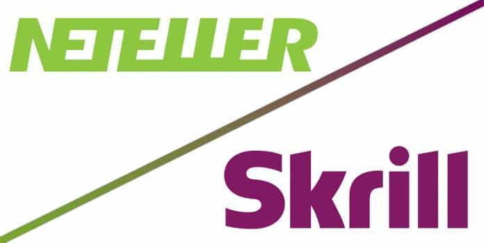 Các nhà cái cho phép nạp tiền bằng Neteller và Skrill